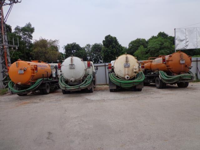 Dịch vụ rút hầm cầu của dịch vụ môi trường Hoàng Nam